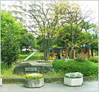 타치바나 기숙사 옆에는 공원이 있습니다