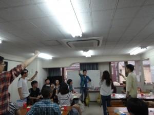 ゲームの後は、みんなでビンゴとじゃんけん大会をしました。たくさん景品をもらいました^^
